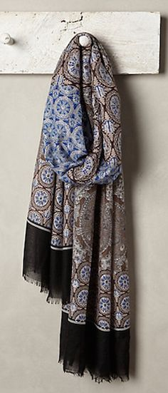 beautiful patterned scarf - 20% off with code: EXTRAJOLLY #anthrofave http://rstyle.me/n/ub34wpdpe