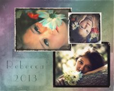 Senior Portrait Template~MDavis Photography