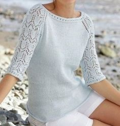 New knitting patterns free dress crafts ideas Loom Knitting For Beginners, Summer Knitting, Lace Knitting, Knit Crochet, Clothes For Pregnant Women, Knitting Machine Patterns, Knit Fashion, Knitting Designs, Sweaters For Women