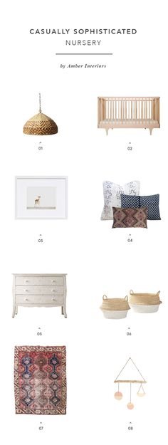 Designer's Take on The Nursery: {Amber Interiors}