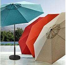 Member's Mark Sunbrella 10FT Market Umbrella (Spectrum Peacock)