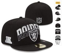 NFL Draft 59FIFTY Fitted Oakland Raiders Hats 6985|only US$8.90