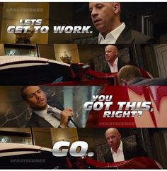 Fast And Furious Memes, Fast Furious Series, Movie Fast And Furious, Fate Of The Furious, Furious Movie, Movie Quotes, Funny Quotes, Funny Memes, Fast Quotes