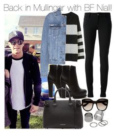 """""""Back in Mullingar with BF Niall!"""" by directionermixer01 ❤ liked on Polyvore featuring BEA, Calvin Klein Jeans, Gucci, Forever 21, Burberry, Yves Saint Laurent and Pieces"""