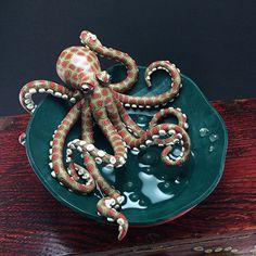 Octopus bowl | Melissa Terlizzi | Flickr