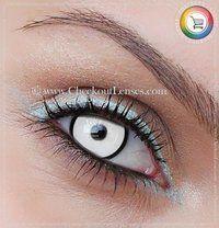 Manson Crazy Eyes 30 day wear - Checkout Lenses