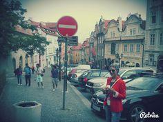 Walking down Prague Castle http://www.bespokevoyage.com/item/122/The-Augustine-Prague