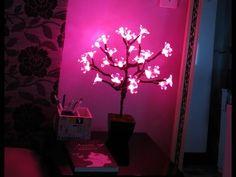 Diy- Luminária - Árvore de luz - Imaginarium por Diane Silva - YouTube