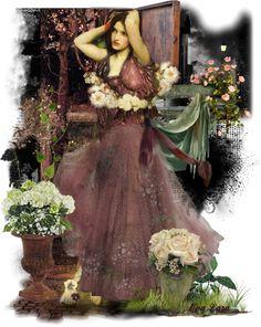 """I am a rose ....."" by eva-lara ❤ liked on Polyvore"