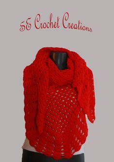 Crochet shawlTrianglе crochet shawl Handmade shawlcrochet