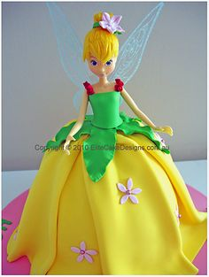 Google Image Result for http://www.elitecakedesigns.com.au/images/Birthday%2520Cakes/Tinkerbell-fairy-green.jpg