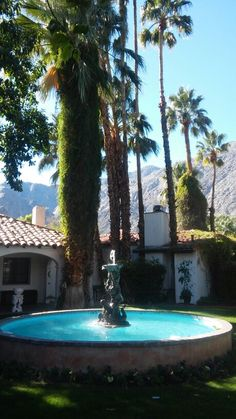 Ingleside Inn, Palm Springs. A trip to remember with Elena.