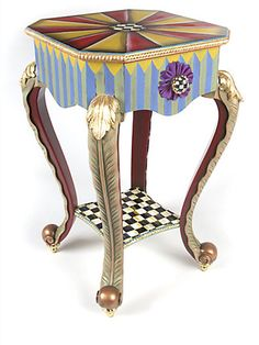 MacKenzie-Childs - Epaulette Table