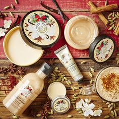 Savour a winter warmer for the whole body. Our new Vanilla Chai range, exclusive for the holiday season, combines hand-harvested vanilla from Madagascar with Cardamom and Star Anise for a delicious scent and creamy texture. Ideal for soothing winter skin.  #TheBodyShop #FeelGood #Xmas #Christmas #Vanilla #Chai #Skincare #bodybutter #scrub #seasonal #bodycare
