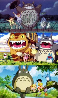 My Neighbor Totoro I watched for the first time last night (feb 9th, 14) I LOVED IT!! Such an Adorable Film!