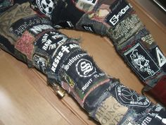 Crust Punk Pants - CVLT Nation