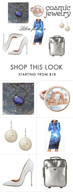 """""""Libra fashion"""" by finn-hudson-forever24 ❤ liked on Polyvore featuring Carolina Bucci, Alex and Ani, WithChic, Prada, libra and horoscopes"""