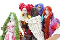 Veronika Lavey dolls <3  www.veronikalaveydesign.com