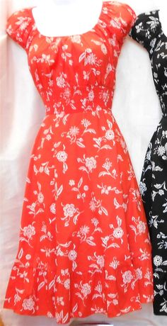 $44 Vintage Reproduction 1950s Pin Up Dress