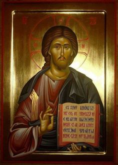 Purchase authentic manually painted Orthodox icons in the Byzantine style Religious Images, Religious Icons, Religious Art, Spiritual Paintings, Religious Paintings, Byzantine Icons, Byzantine Art, God Jesus, Jesus Christ
