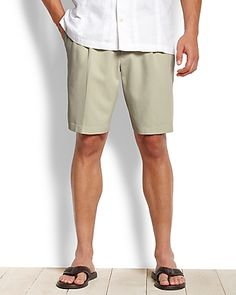 1b61644980 Tommy Bahama Flying Fishbone Pleated Short - From a celebratory luau on the  islands to family. Pleated ShortsMen's ...