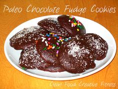 Paleo Chocolate Fudge Cookies