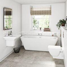 Image result for freestanding bathroom suites
