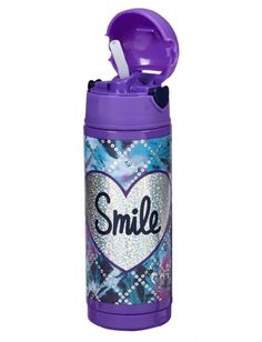 Dye Effect Smile Insulated Water Bottle