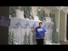 Operation Arctic Winter Wonderland Hallway - YouTube
