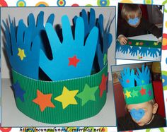 Maternal assistant … – maternal assistant … all advice around assist … – Face Mask Footprint Crafts, Handprint Art, 4 Kids, Children, Cover Pages, Party Hats, Origami, Crafts For Kids, Clip Art