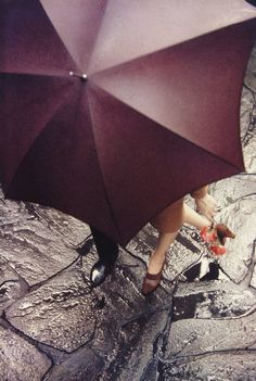 Saul Leiter: Shoe Advertisement for Miller Shoes
