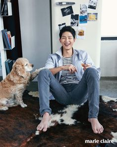 Eye Candy : Song Joong Ki For Marie Claire
