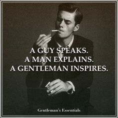 Gentleman Definition     www.gentlemans-essentials.com