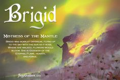 Brigid's the fiery light within never goes out. Goddess Symbols, Pagan Symbols, Pagan Gods, Celtic Goddess, Celtic Mythology, Brighid Goddess, Sacred Feminine, Divine Feminine, Wiccan Witch