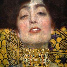 Judith and the Head of Holofernes, detail,Gustav Klimt 1901. Österreichische Galerie Belvedere, Vienna