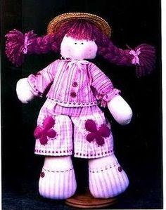 Las chorradikas de Laury: Molde muñeca de tela