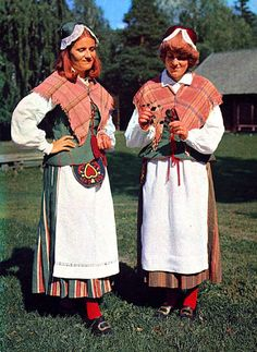 super kitsch traditional folk dress of sweden Ångermanland.