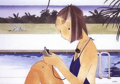 Flavorwire » Seiichi Hayashi's Pretty Illustrations of Modern Young Women