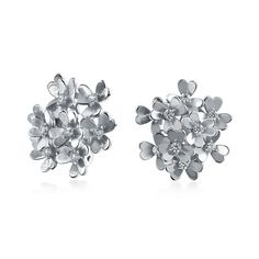 Checkout Fresh Fleur Clip Ons at BlingJewelry.com