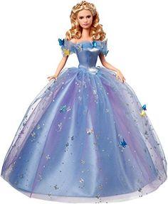 Princesses Disney – CGT56 – Poupée Mannequin – Cendrillon – Robe De Bal: Descriptif produit: Retrouve Cendrillon dans sa majestueuse robe…