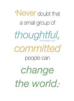Change the world | #inspiration #quote