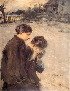 Misery - Teodor Axentowicz 1895
