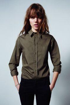 Freja Beha Erichsen Mother Denim Collection Pictures & Interview (Vogue.com UK)