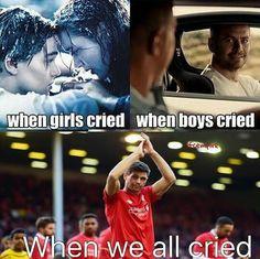 We will always love you #ynwa #legend Steve George Gerrard