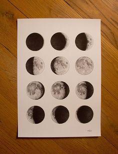 Image of Moon Print