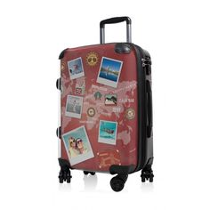 "BLNBAG - Handgepäck Hartschale Design:  World Polaroid Rot, TSA, 55 cm, 49 Liter;  Roter #Boardtrolley aus der Serie ""BLNBAG"" von #Hauptstadtkoffer.  #Hartschalenkoffer #Handgepäck #Rot #Rollkoffer #Trolley #Koffer #Travel #Luggage #Reisen #Urlaub #red #rouge => mehr Rote Koffer: https://hauptstadtkoffer.de/de/catalogsearch/result/index/?color=26&limit=90&q=Rot"