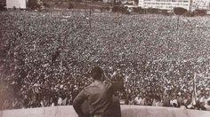 Primera Declaración de La Habana 2 septiembre, 1960 proclamó el derecho de los oprimidos a combatir por alcanzar reivindicaciones económicas, políticas y sociales, así como el derecho de los pueblos del mundo a su liberación. Hace 57 años el líder de la Revolución Cubana, Fidel Castro se dirigió a miles de cubanos reunidos en la plaza de la Revolución José Martí para pronunciar histórico discurso conocido como Primera Declaración de La Habana.