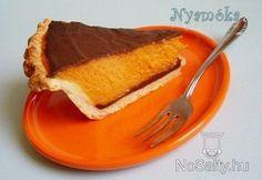 Csokoládés sütőtökpite