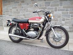 1971 BSA A65 Lightning Classic Motorcycle Pictures