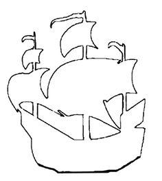 Free Craft Patterns - Pirates